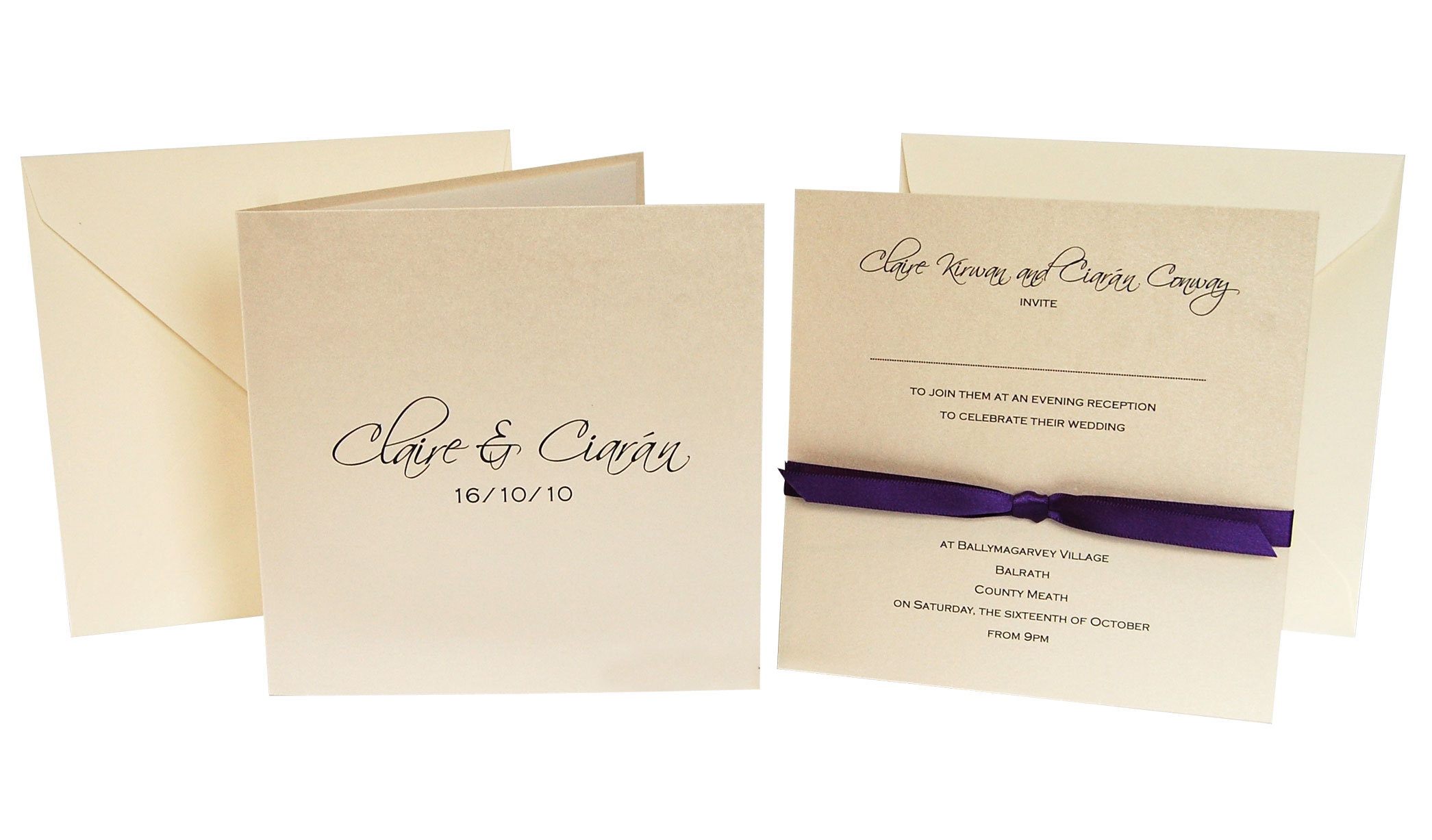 Ribbon Invitations is awesome invitations ideas