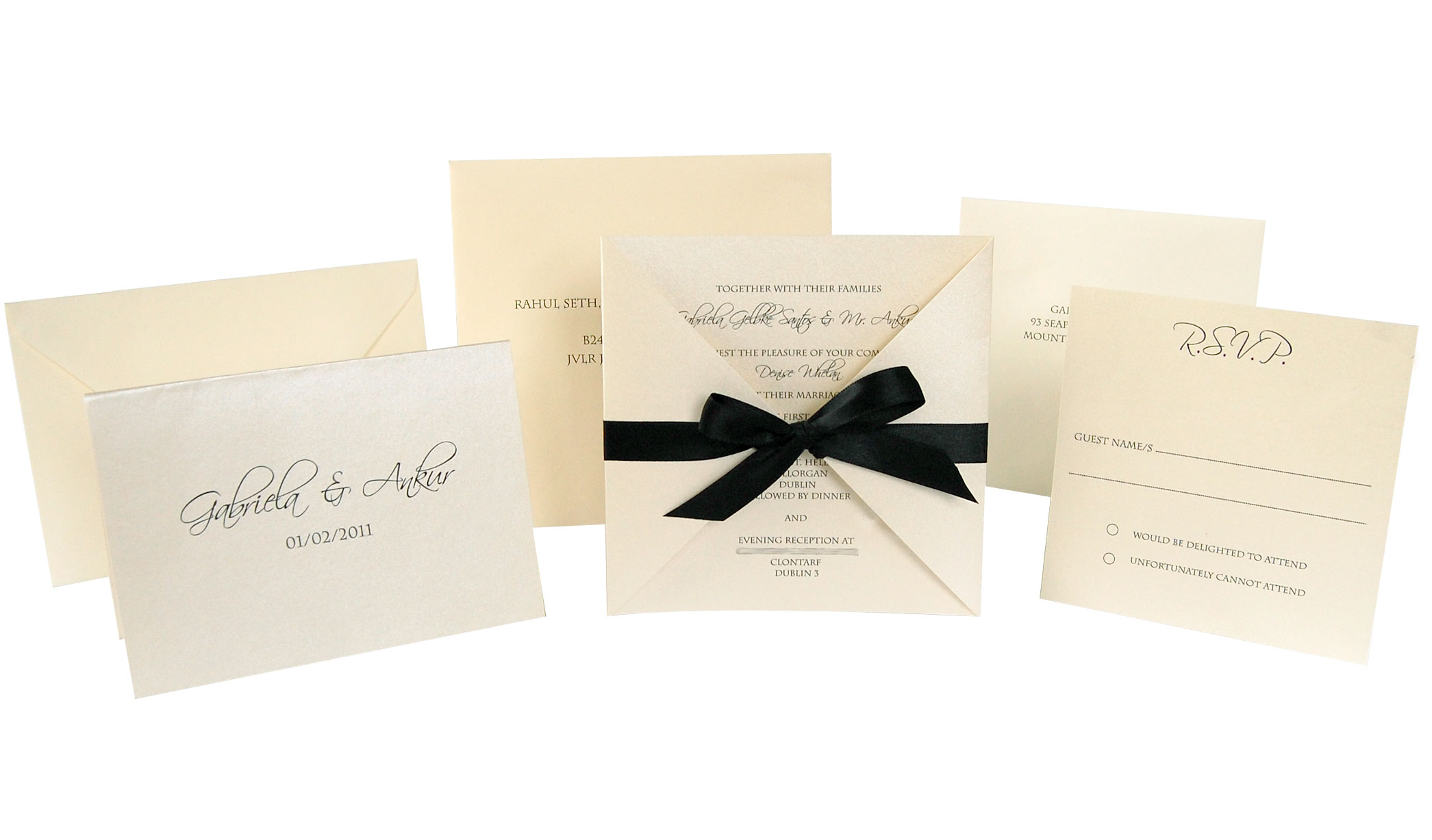 where to write guest name on wedding invitation - 28 images - how to ...