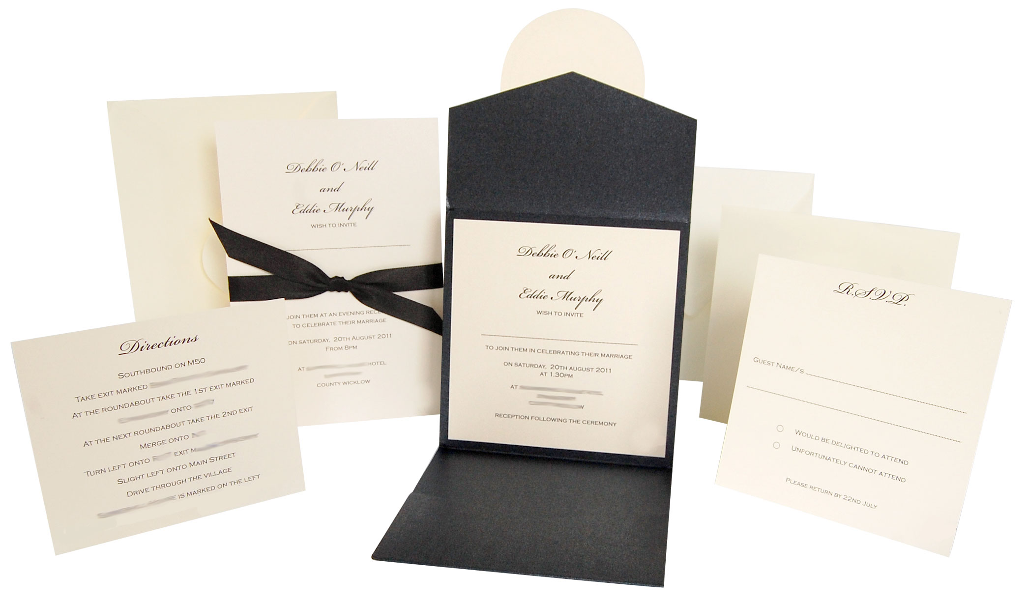 Lots of love invitations inspired by their wedding solutioingenieria Images