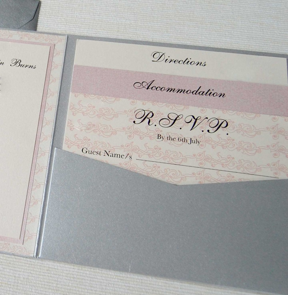 how to avoid wedding invite inserts