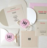 Cream Petal Invitation