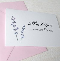 A6 Thank You Card