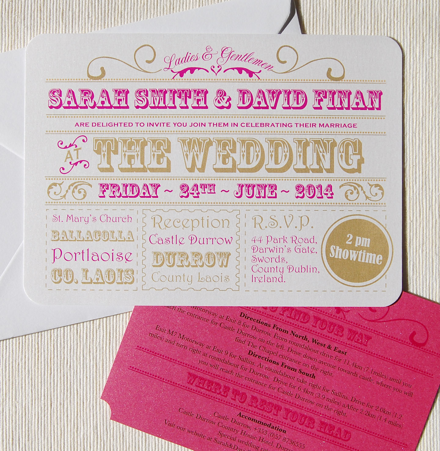 circus style wedding invitations - 28 images - vintage wedding ...