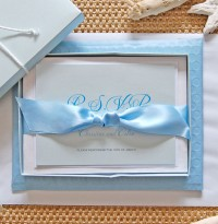 Pale Blue Invitation Box