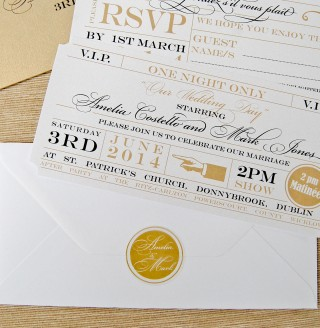 Large Clear Ticket Envelope Seals