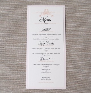 Tall Layered Menu