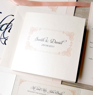 Seashell Invitation